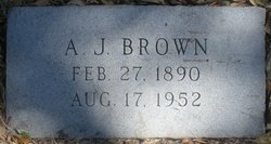 Andrew Jackson A J Brown