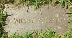 William A Chafin