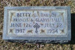 Betty L Ball