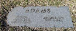 Sgt Jacque Adams