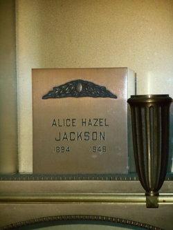 Alice Hazel Jackson