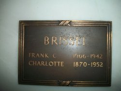 Charlotte <i>Frank</i> Brissel