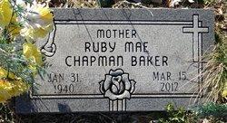 Ruby Mae <i>Chapman</i> Baker