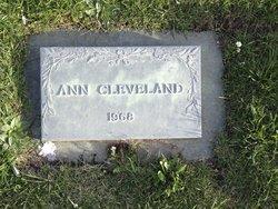 Ann Cleveland