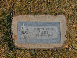 Lauretta <i>Wilcox</i> Alkire