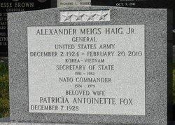 Patricia Antoinette <i>Fox</i> Haig