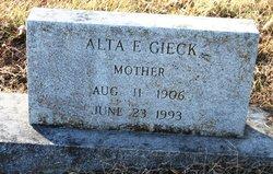 Alta Elizabeth <i>Maples</i> Gieck
