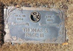 Thomas Smith Page, III