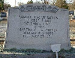 Martha Ella <i>Porter</i> Botts