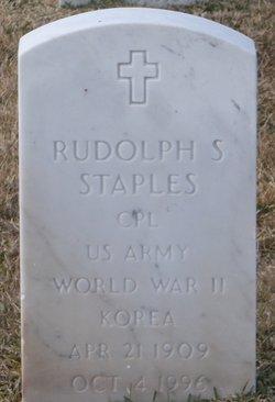 Rudolph S Staples