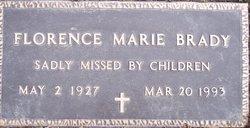 Florence Marie <i>Loar</i> Brady