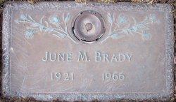June Marie <i>Leutert</i> Brady
