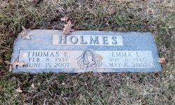 Emma L <i>Browning</i> Holmes