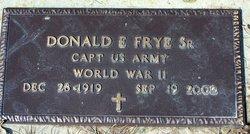 Donald E. Frye, Sr
