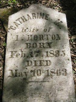 Catherine <i>Conover</i> Horton