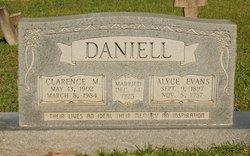 Alyce <i>Evans</i> Daniell