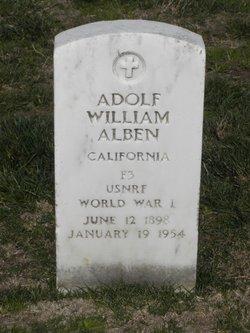 Adolf William Alsleben