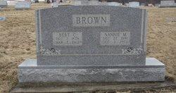 Nannie M <i>Clyde</i> Brown