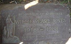 Willie Pearl <i>Simon</i> Jones