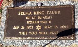 Selma <i>King</i> Fauer