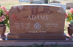 Paul Millard P.M. Adams, Jr