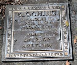 Marjorie L Bloching