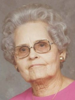 Mrs Azalee Belle Dot <i>McAdams</i> Harrison