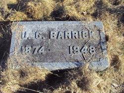 Ulysses Glen Barrick