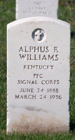 Alphus R Williams