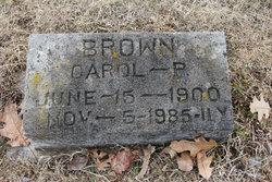 Carol <i>Pleasants</i> Brown