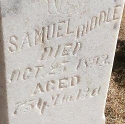 Rev Samuel Riddle