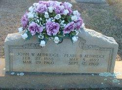 Pearl Ann <i>Blackwelder</i> Aldridge