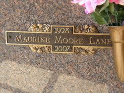 Maurine Elizabeth <i>Moore</i> Lane