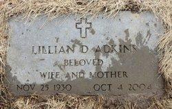 Lillian D. <i>Holtz</i> Adkins