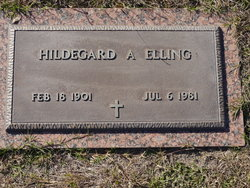 Hildegard Alexandra <i>Jesse</i> Elling