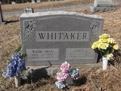 Wade Max Mack Whitaker