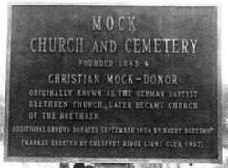 Mock Church Cemetery