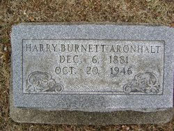 Harry Burnett Aronhalt