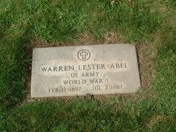 Warren Lester Abel