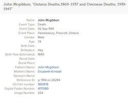 John McGibbon, Jr
