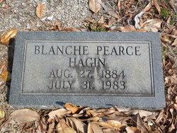 Blanche <i>Pearce</i> Hagin