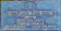 John Arvid Englebert Anderson