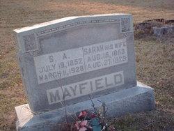 Sarah Elizabeth <i>Deen</i> Mayfield