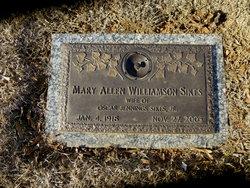 Mary Allen <i>Williamson</i> Sikes