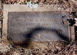 Watie Richard Pigeon
