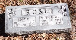 Edna Mae <i>Collins</i> Rose