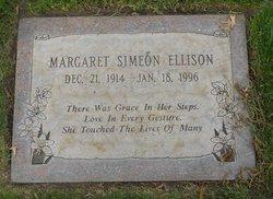 Margaret <i>Simeon</i> Ellison