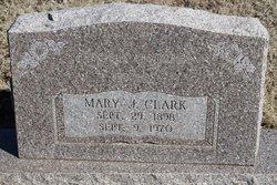 Mary J Clark