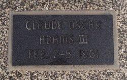 Claude Oscar Adams, III