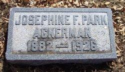 Josephine Francos <i>Parks</i> Ackerman